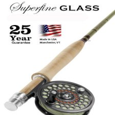 Orvis Superfine Glass Outfit - Fly Rod, Reel and Line Combos
