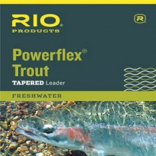 Rio Powerflex Trout Leaders, Single Pack