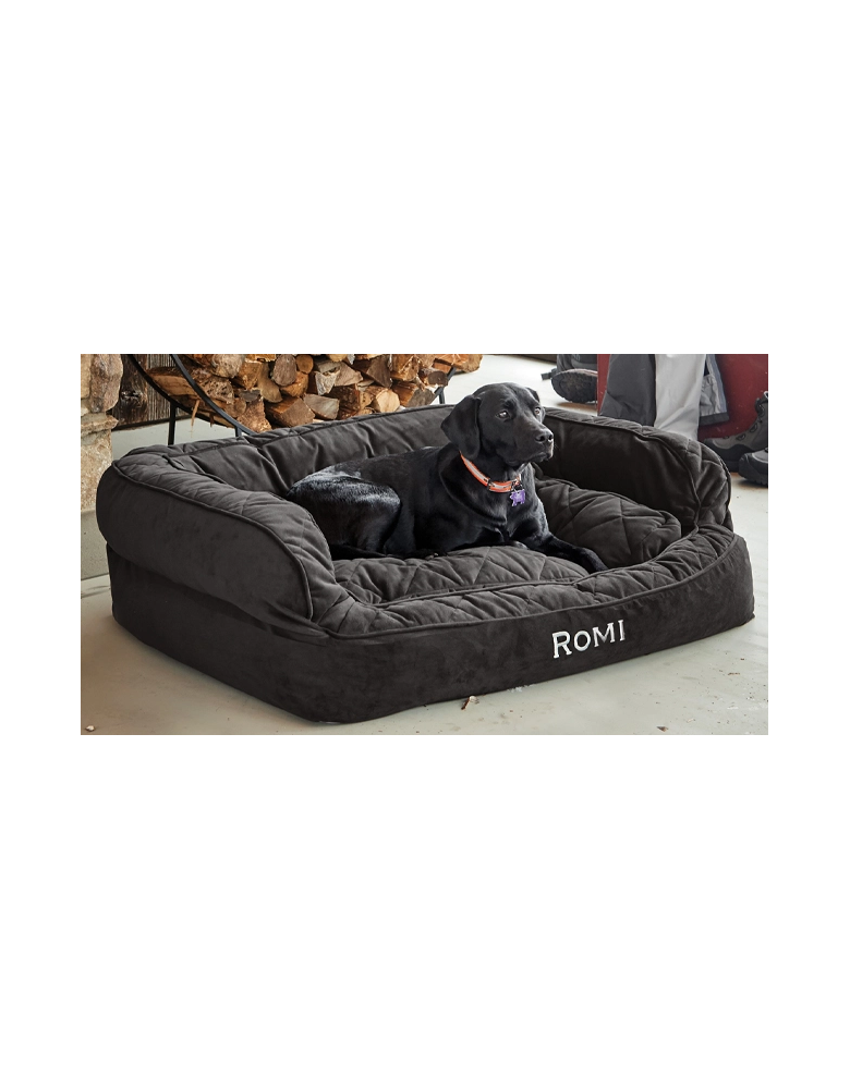 Orvis ComfortFill-Eco Couch Dog Bed