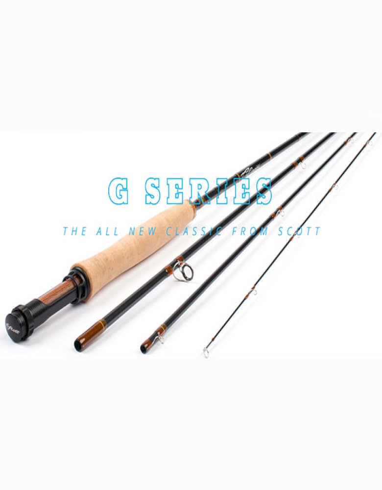 Scott G Series Fly Rod with Free Overnight Shipping in USA*