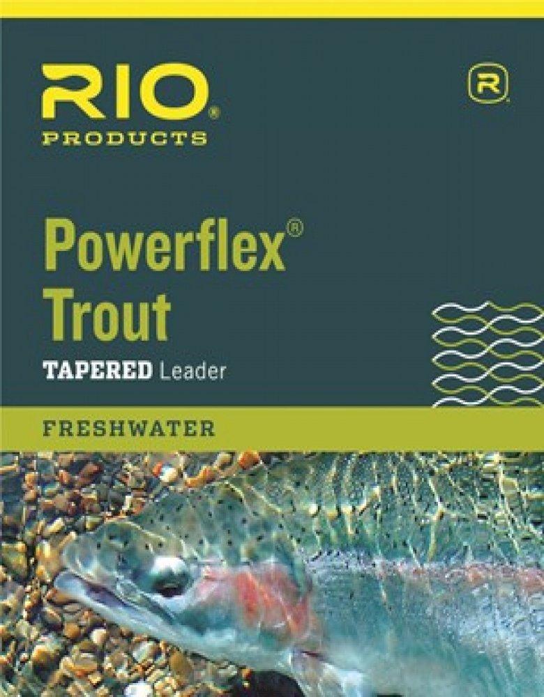 Rio Powerflex Trout Leaders, Single Pack