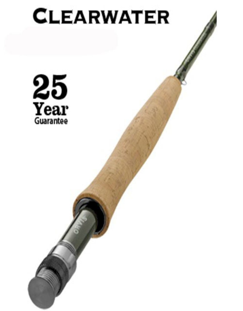 Orvis Clearwater Freshwater Fly Rod w/free line, leader or tippet*