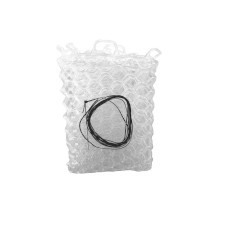"""Fishpond Nomad Replacement Rubber Net Kit - 12.5"""" Clear (Native Net Models)"""