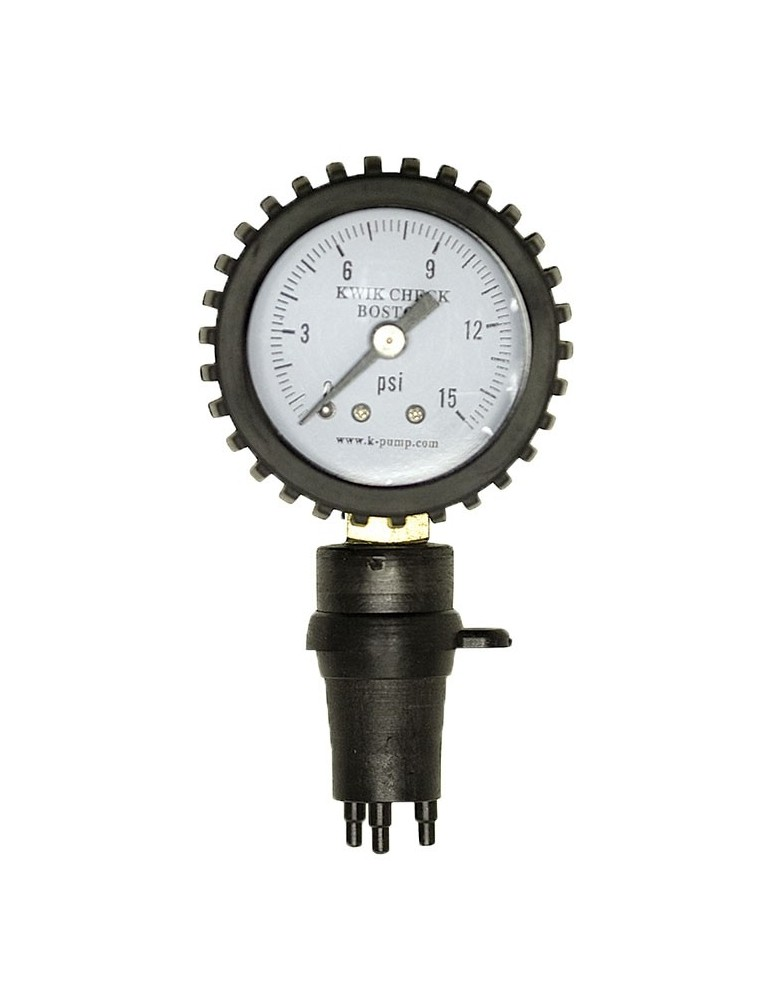 Outcast Kwik Check Boston Pressure Gauge
