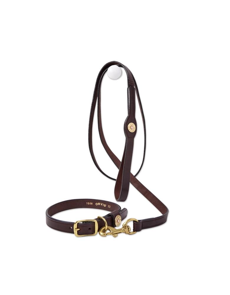 Orvis Leather Softshell Dog Collar