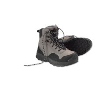 Orivs Women's Clearwater Wading Boots- Rubber Sole w/free fly line, tippet or leader*