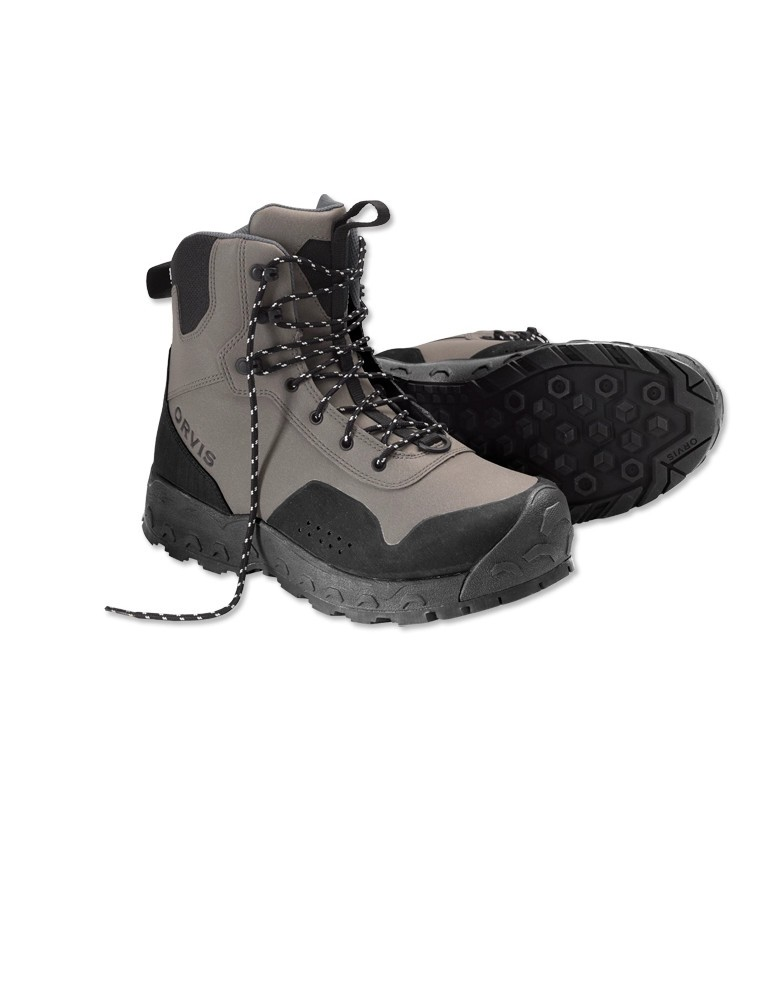 Orvis Men's Clearwater Wading Boots- Rubber Sole w/free fly line, tippet or leader*