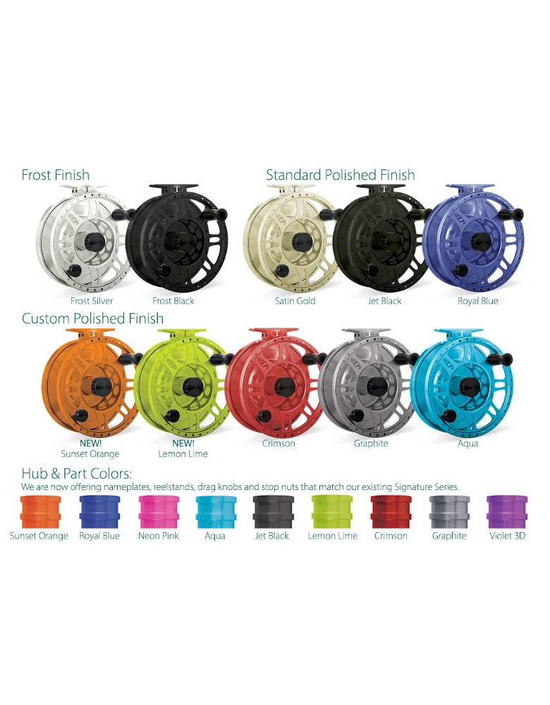 Tibor Gulfstream Fly Reel with free fly line, tippet or leader*