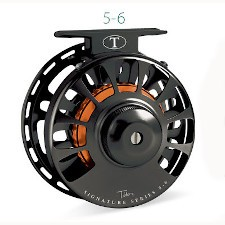 Tibor Signature Series 5/6 Fly Reel with free fly line, tippet or leader*