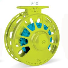 Tibor Signature Series 9/10 Fly Reel with free fly line, tippet or leader*