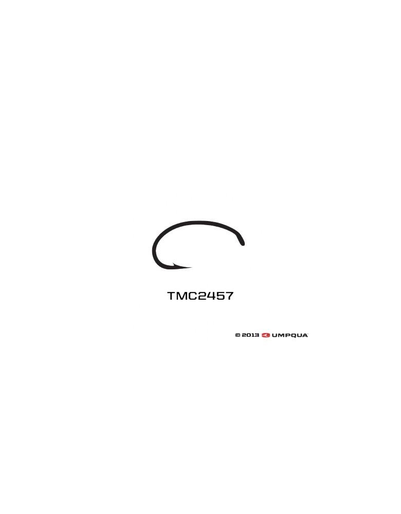 Umpqua Tiemco Hooks TMC 2457