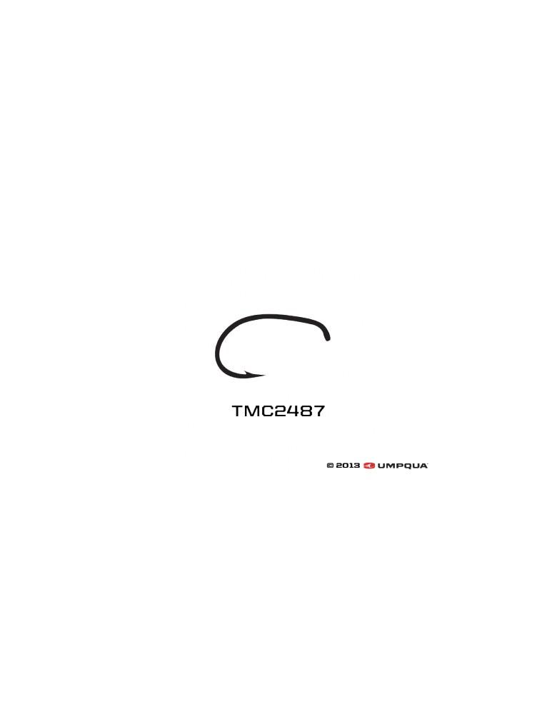 Umpqua Tiemco Hooks TMC 2487